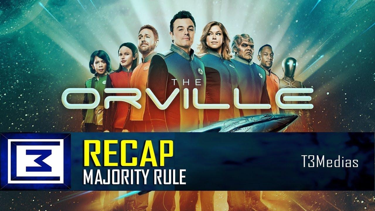 Download The Orville S1E7 Majority Rule RECAP