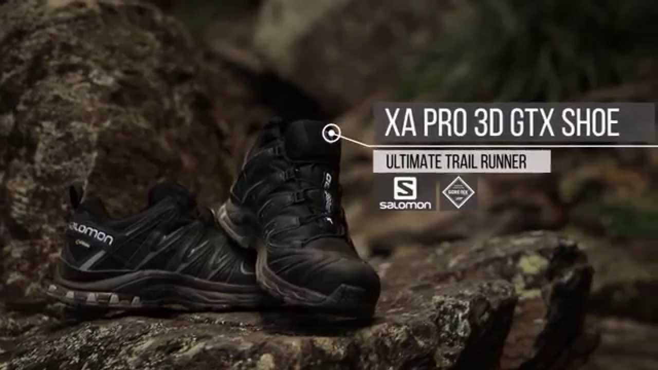 Salomon Men s XA Pro 3D GTX Shoe - YouTube bdd508261a74