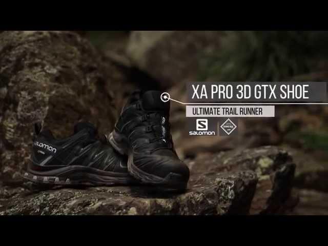 Salomon Damen Trailrunning Schuhe,XA PRO 3D GTX W,Farbe: Rot (Deep ClaretSyrahCoral Almond),Größe: 41 13 Vergleichen Sie die Preise bei