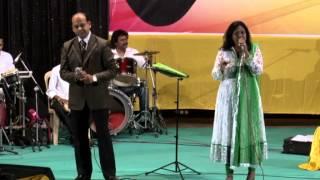 Yeh ladka hai allah by Shailaja Subramanian and Sanjay Desai at Farmaish Club Vadodara