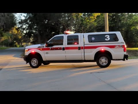 *RARE* District 3 Responding + Tones - Tampa Fire Rescue