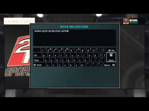NBA 2K15 - Секретный код