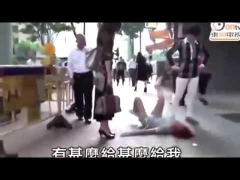 Wife throws tantrum