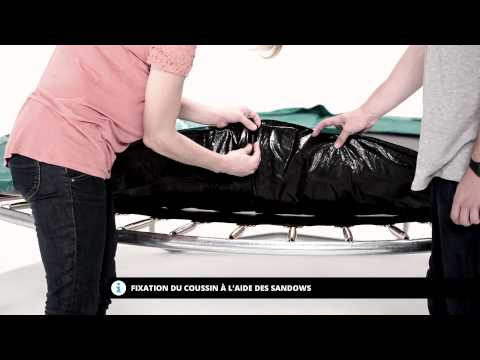 Notice de montage du trampoline Oxygen 250