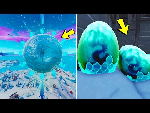 Fortnite ICE STORM Dragon Egg EVENT is HAPPENING RIGHT NOW! (Fortnite: Battle Royale)
