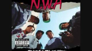 N.W.A. - Straight Outta Compton (Instrumental) + Lyrics!