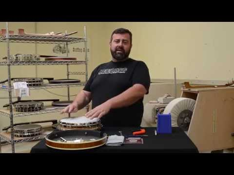Deering Tech: How To Change Your Deering Upperline Banjo Head