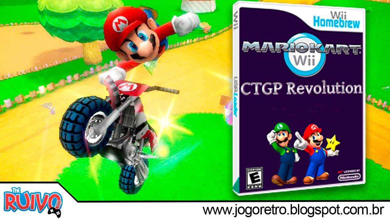 Mario kart wii ctgp revolution 2017 dolphin 5 0 mario kart hack pt br youtube - Mario kart wii voiture ...