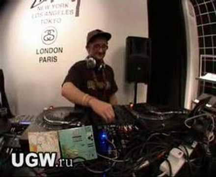 DJ VADIM Live @ Stussy Store Opening 23-04-08
