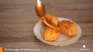 Pepite alla Cassata con colata di miele caldo - Ricetta Arancinotto