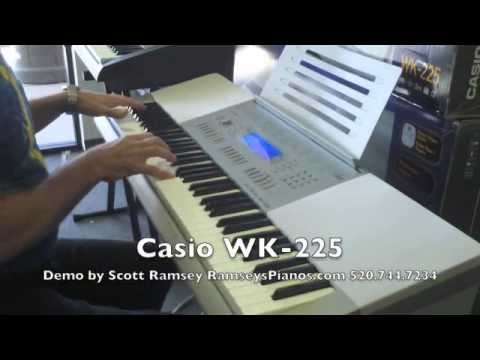 Casio WK-225 review | Digital Piano Review Guide