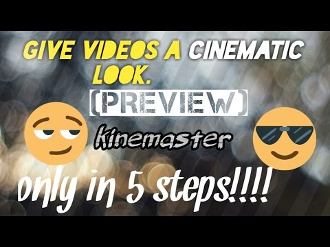 Cinematic Look To A Video Only With Viva Video