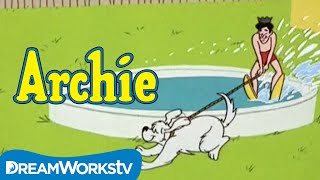 Water Skiing with Jughead and Hot Dog | THE ARCHIE SHOW