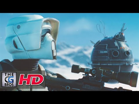 "CGI 3D/VFX Breakdown: ""Filming on Hoth: A Battlefront Movie Shot"" - by Miran Dilberovic"