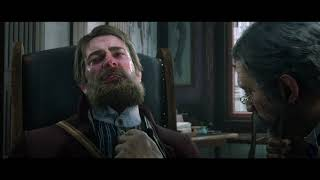 Red Dead Redemption 2 - A Fork in the Road - Arthur Passes Out in Saint Denis