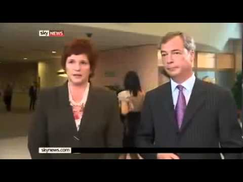Nigel Farage on Greek Bailouts and Euro Crisis