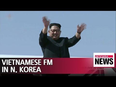 Vietnam's FM in N. Korea to discuss protocol for Kim Jong-un's visit to Hanoi