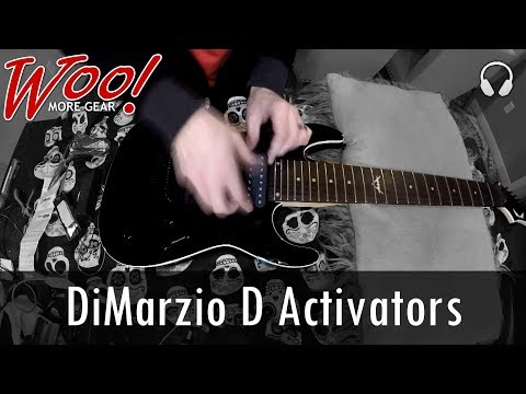 DiMarzio D Activator 8 String Passive Pickups Demo - Do They Really Sound Active?