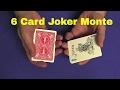 6 Card Joker Monte TUTORIAL and Deck Giveaway
