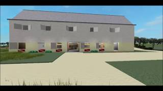 Morning Stables Roblox horse barn