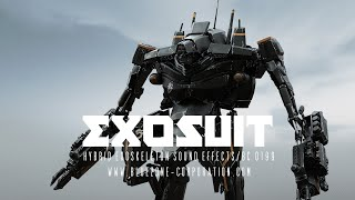 Exosuit - Hybrid Exoskeleton Sound Effects - Sample Pack - District 9 Robot Suit