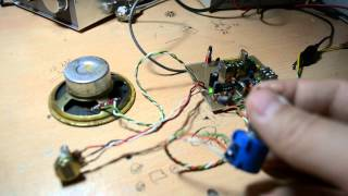 Home made 7 Mhz (40 Meter)  SSB Radio TB5X.COM