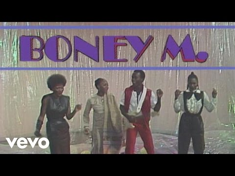 Boney M. - Kalimba de luna (ZDF Tele-Illustrierte 21.09.1984)