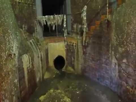 8 foot Storm overflow Sewer Outfall Brighton