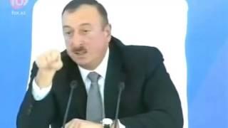 prezident ilham aliyevin xeberdarliqlarla dolu cixisi tam versiya