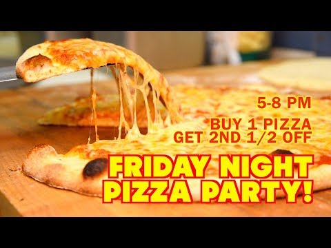 Friday Night Pizza Party @ Simply Fresh - Brighton, MI