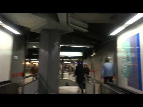Brussels : Metro Station De Brouckère