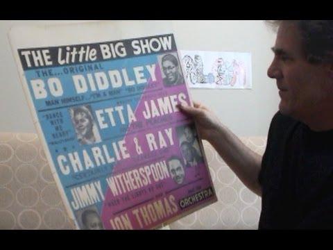 Bo Diddley Etta James Concert Posters 1950s Rhythm & Blues Revue
