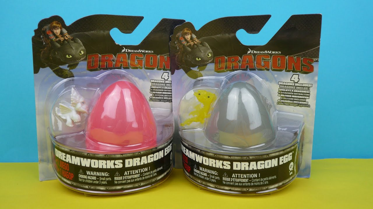 How To Train Your Dragon Surprise Dragon Eggs Opening Dreamworks
