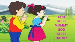 God Bless Mummy God Bless Daddy Kids Song   Mothers Day Special  Popular Nursery Rhymes For Children