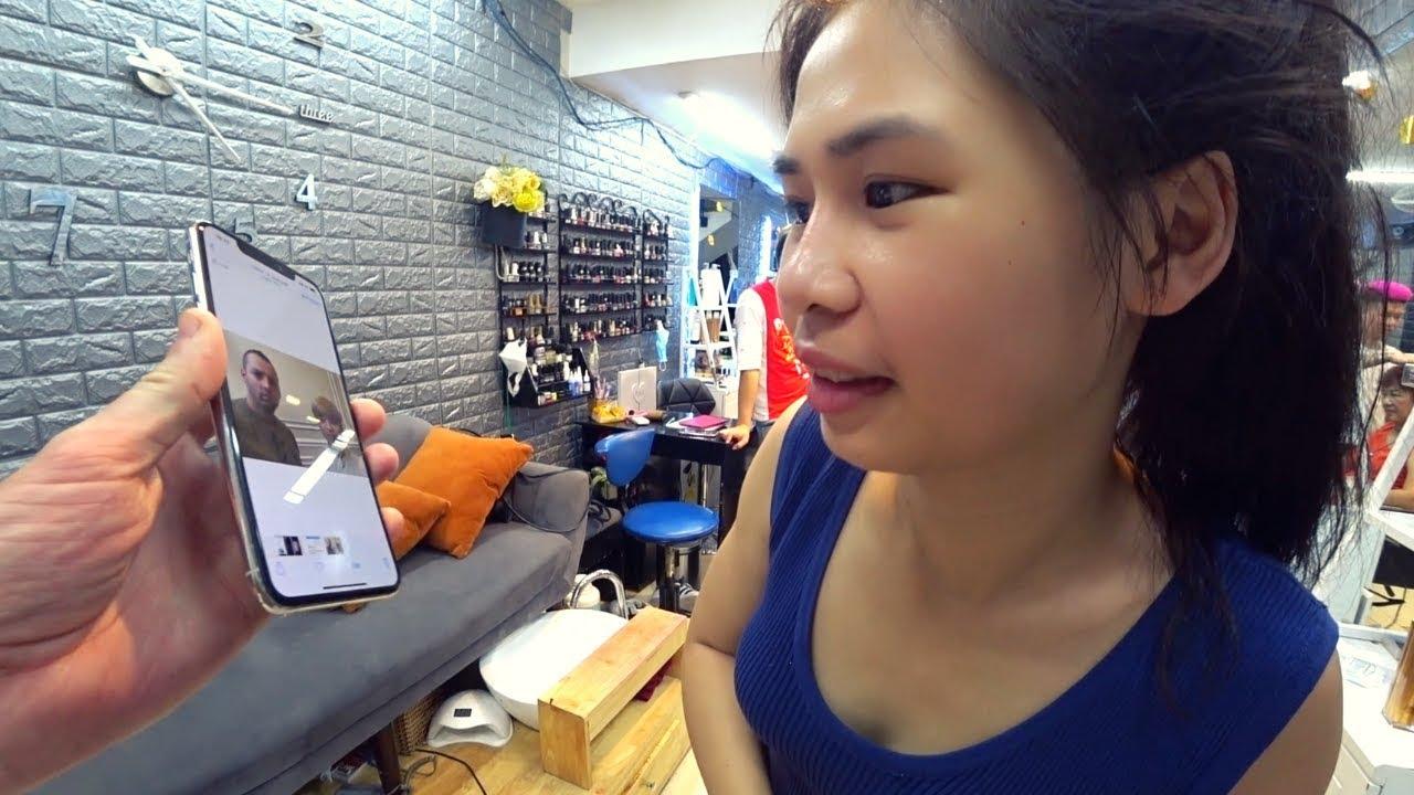 I got a $20 makeover in Hanoi ????????