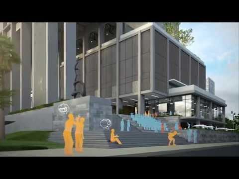 RMUTK Sport Center Design Competition 3D Animation by DOF