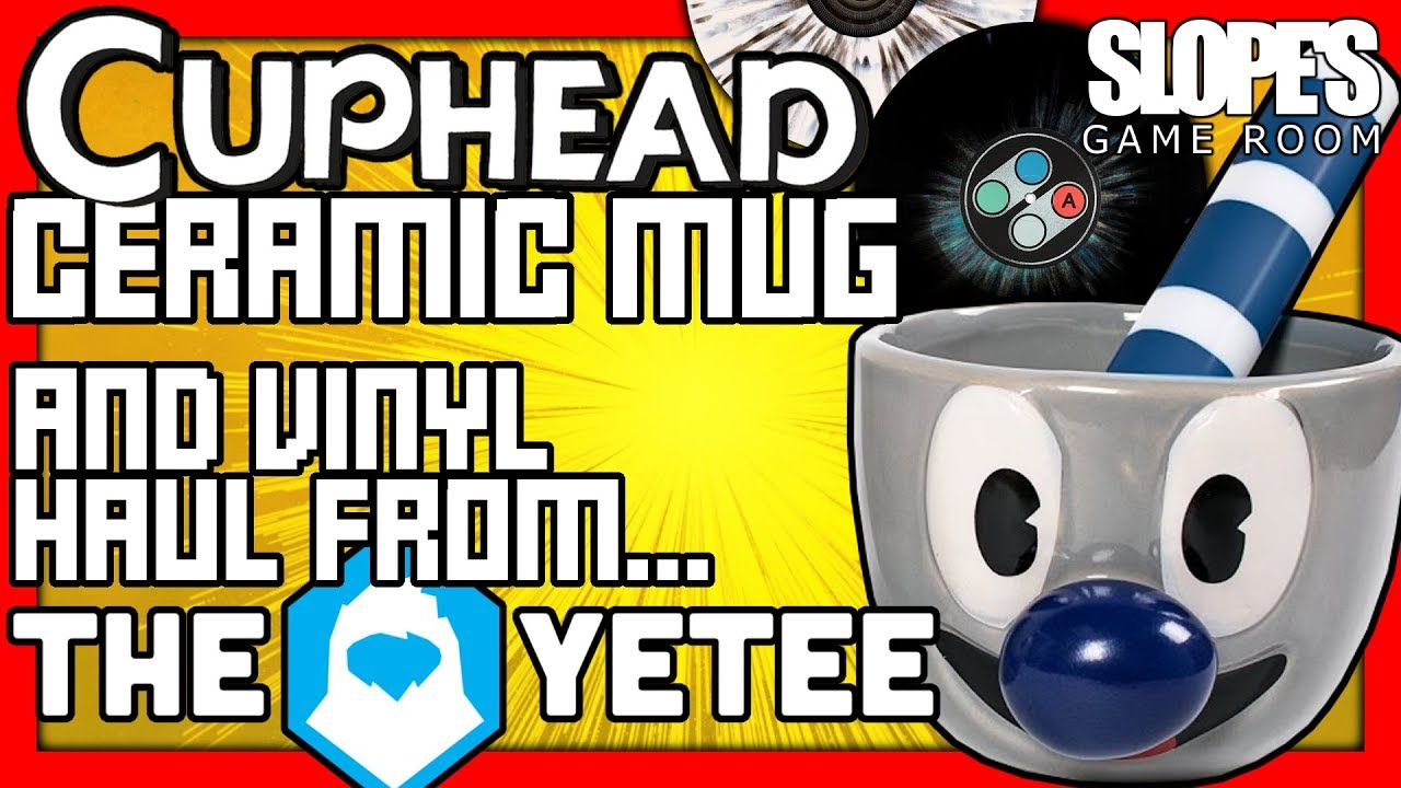 Cuphead Ceramic Mug Vinyl Haul Unboxing From The Yetee Sgr Youtube Can i place a wholesale order? youtube