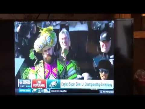 Jason Kelce Eagles Parade Speech Best Super Bowl Championship Speech Ever