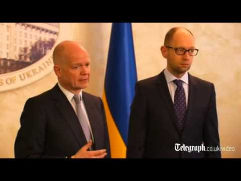 Ukraine crisis: Russia faces 'costs and consequences', warns William Hague