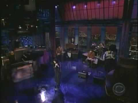 NATALIE MERCHANT live on LETTERMAN '02
