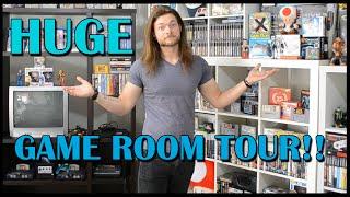 HUGE Game Room Tour! Rare And More! - BeatEmUps 2015