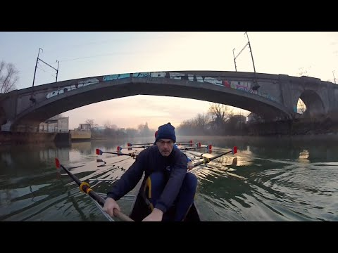 SNP Aviron - Session 8+ training Master - Le Perreux Sur Marne Rowing Club