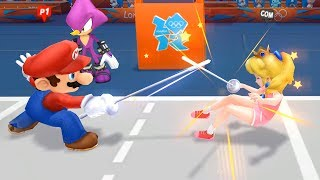 Mario & Sonic At The London 2012 Olympic Games Fencing Mario and Daisy