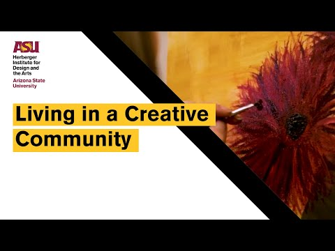 Living In A Creative Community At The Herberger Institute For Design And The Arts