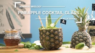 How to Make a Pineapple Cocktail Glass