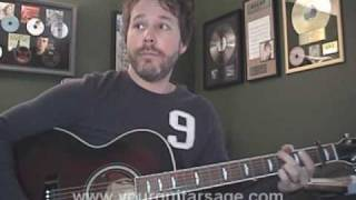 Guitar Lessons - What Hurts The Most by Rascal Flatts - cover Beginners Acoustic songs tutorial