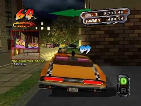Crazy Taxi - $118,640.52 - 238 customers - New World Re ...