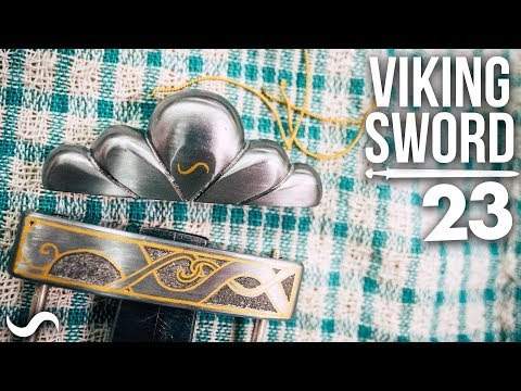 MAKING A VIKING SWORD!!! Part 23