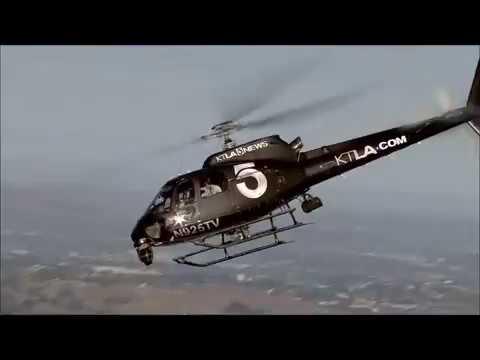 Helicóptero faz pouso de emergência devido a linha de óleo entupida