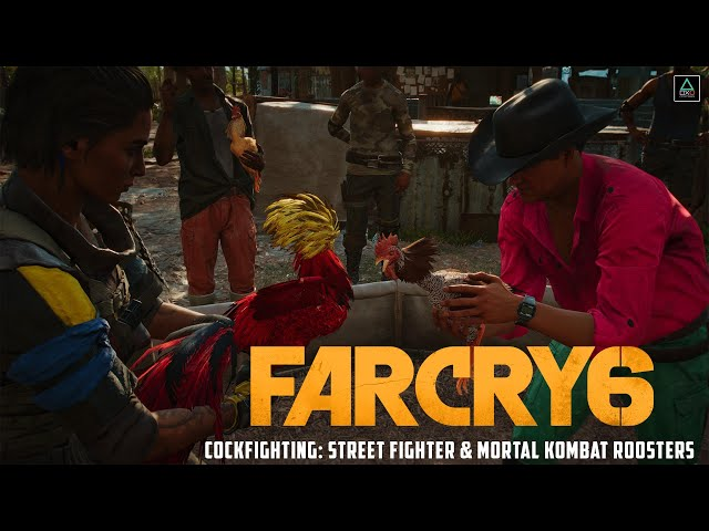 Far Cry 6 (PS5) Cockfighting: Street Fighter & Mortal Kombat Roosters